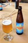 Primus is the beer of Rwanda.  It's quite good.  Someone said it's a light version of Stella.